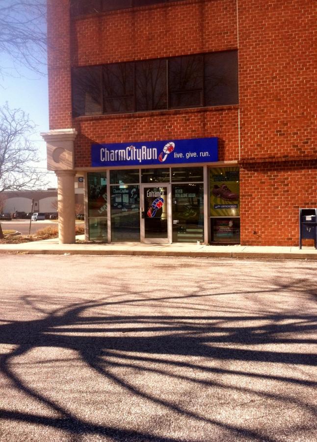 My local running store!